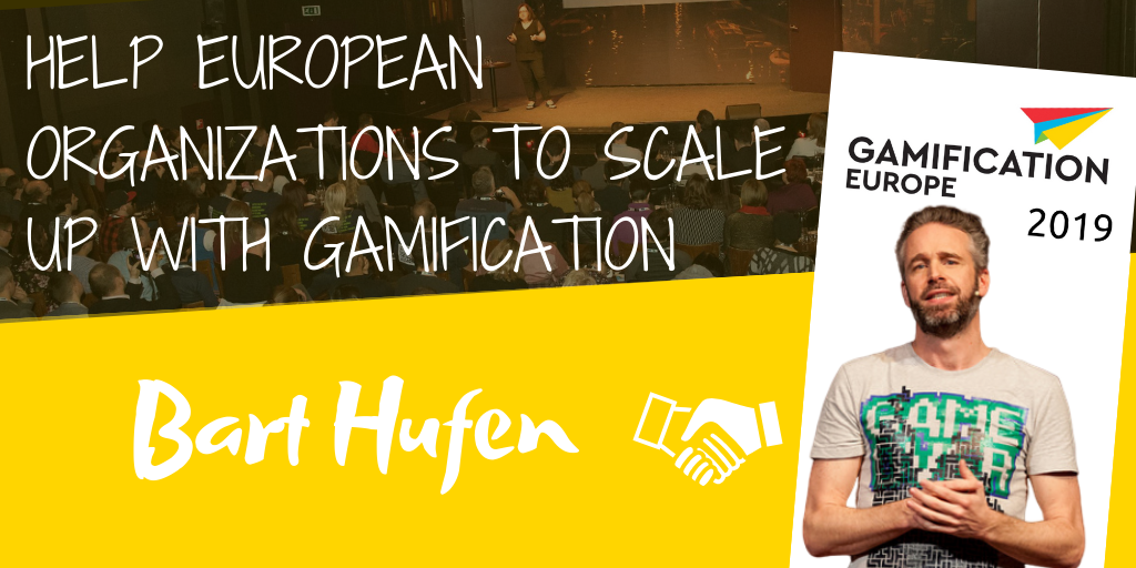 Help European Organizations to Scale up with Gamification